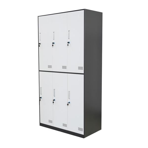 SL-6S六门更衣柜